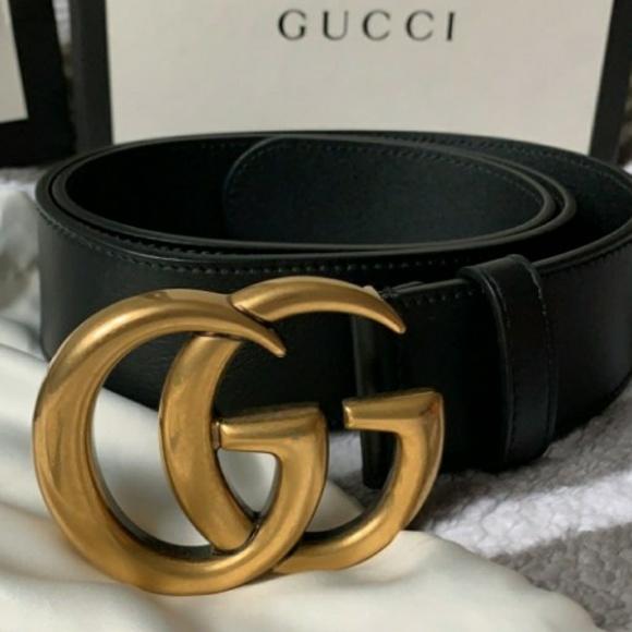 1bd60a434 Saks Fifth Avenue Accessories | Gucci Gg Marmot Belt | Poshmark
